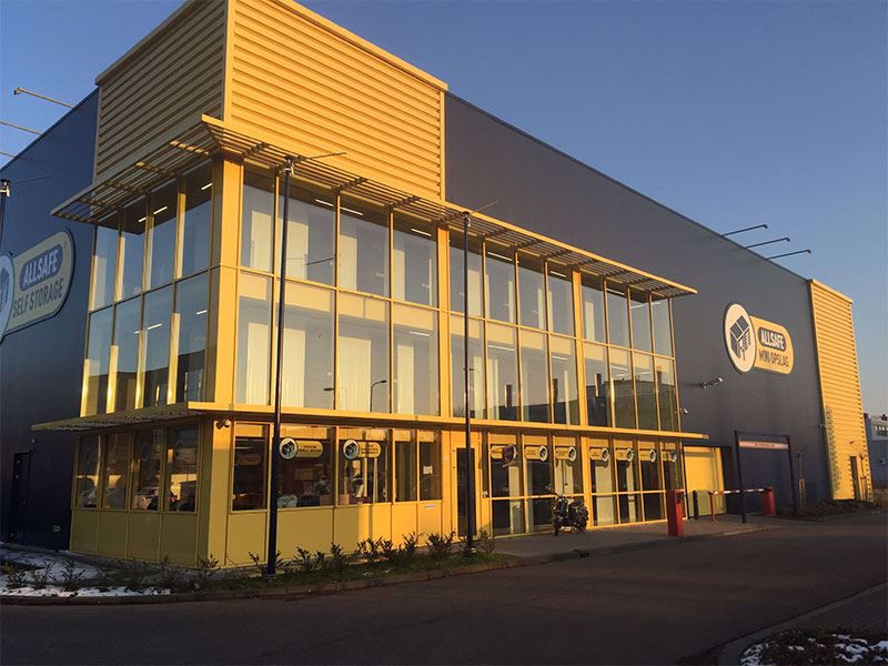 Afhaalpunt ALLSAFE Mini Opslag Zwolle